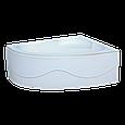 Ванна Акриловая угловая левосторонняя 1500*1000*400 в комплекте с экраном, фото 4