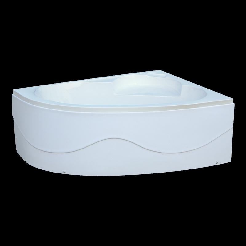 Ванна Акриловая угловая левосторонняя 1500*1000*400 в комплекте с экраном - фото 4