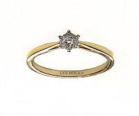 Кольцо с бриллиантом, DR1824