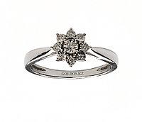 Кольцо с бриллиантом, DR5980W