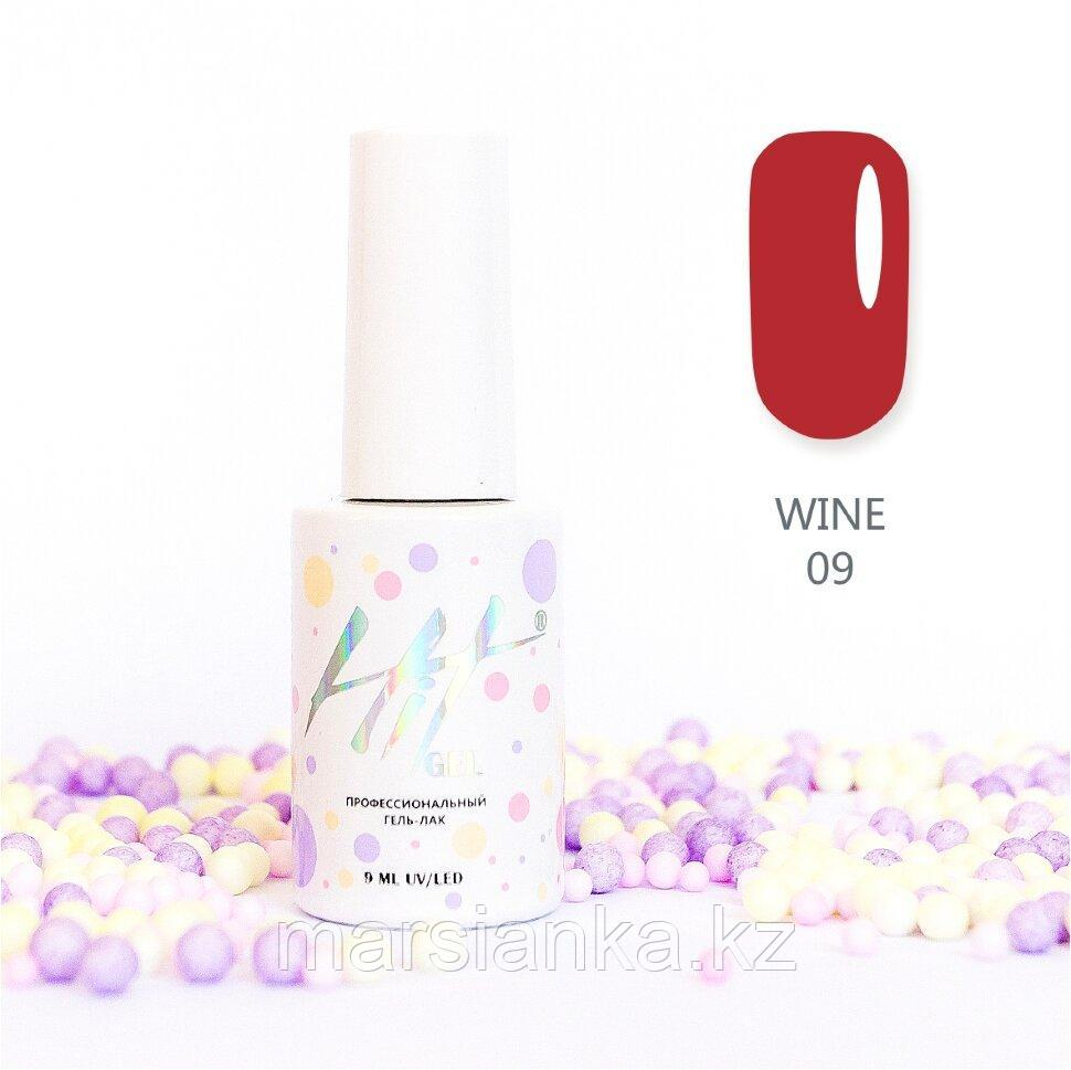 Гель-лак HIT gel Wine №09, 9мл