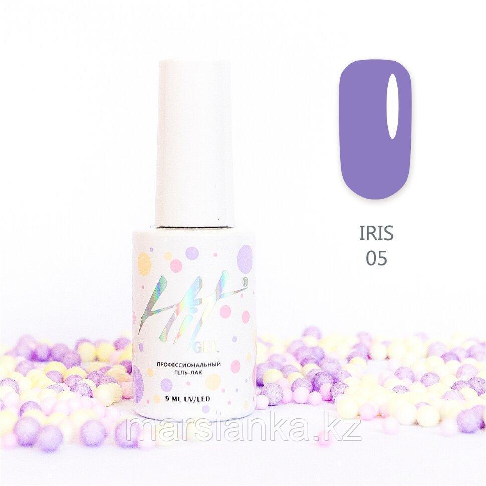 Гель-лак HIT gel Iris №05, 9мл