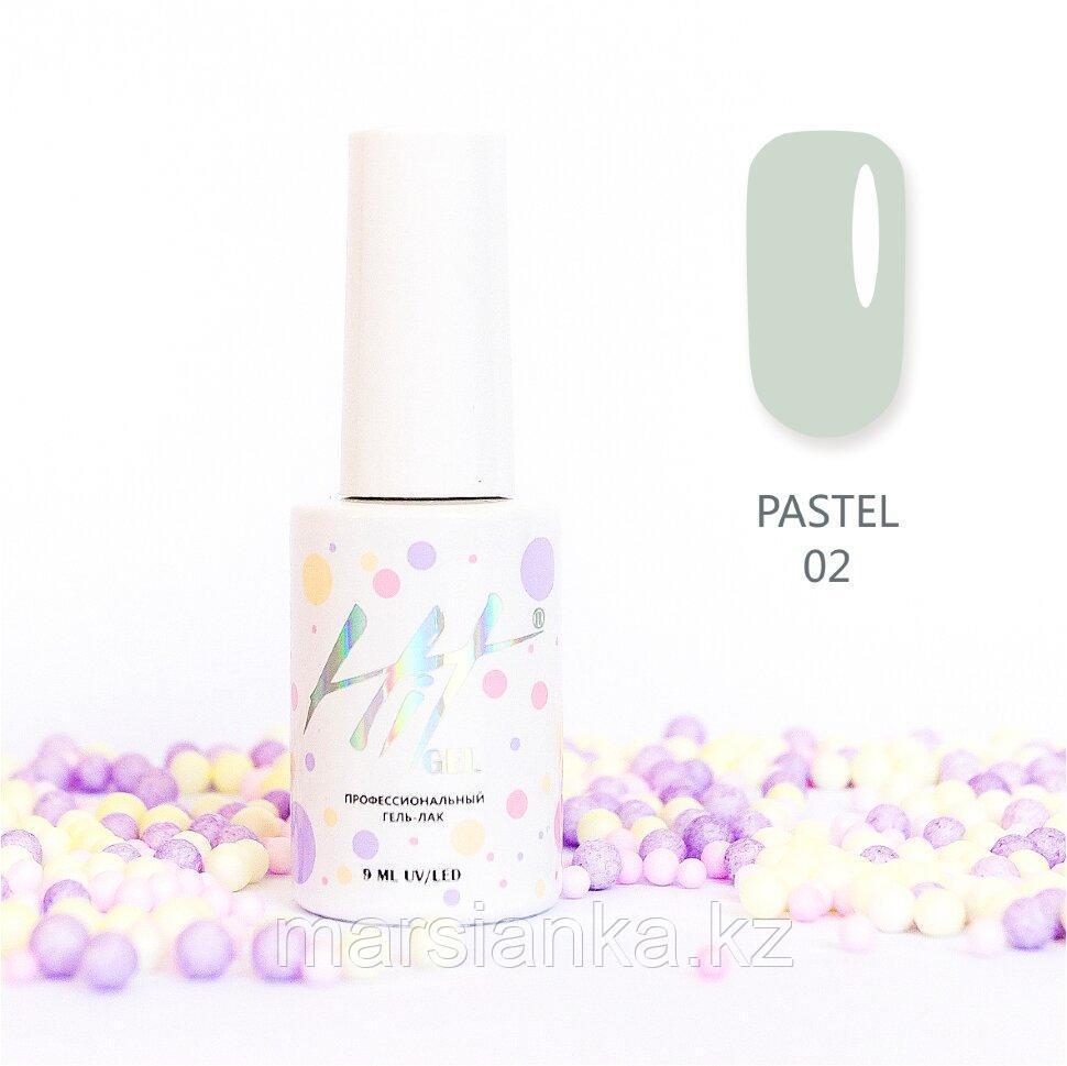 Гель-лак HIT gel Pastel №02, 9мл