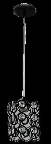 Люстра Подвесная 90002/1 BK, фото 2