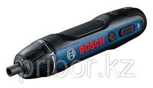 Аккумуляторная отвертка в наборе с битами Bosch GO 2 kit