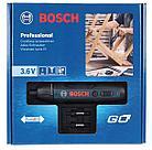 Аккумуляторная отвертка в наборе с битами Bosch GO 2 kit, фото 5