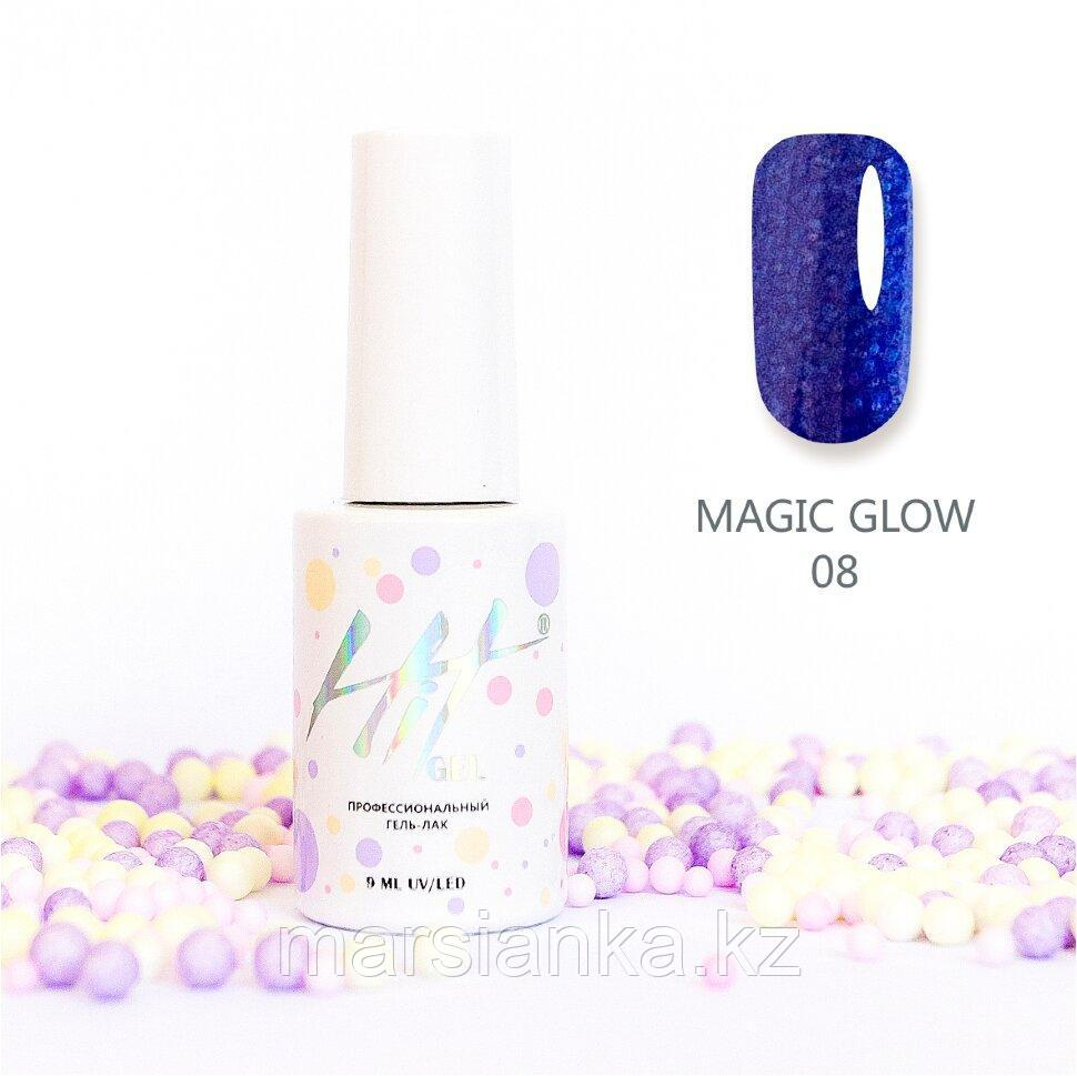 Гель-лак HIT gel Magic glow №08, 9мл