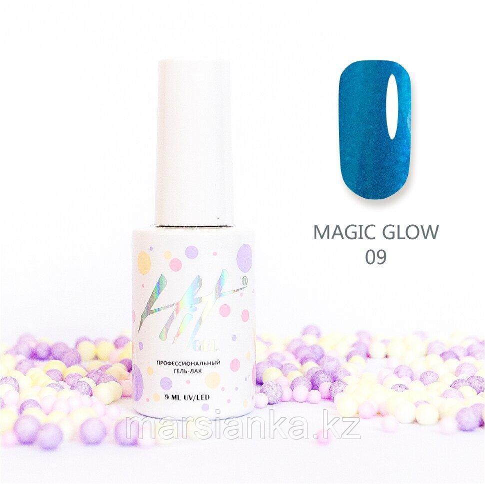 Гель-лак HIT gel Magic glow №09, 9мл