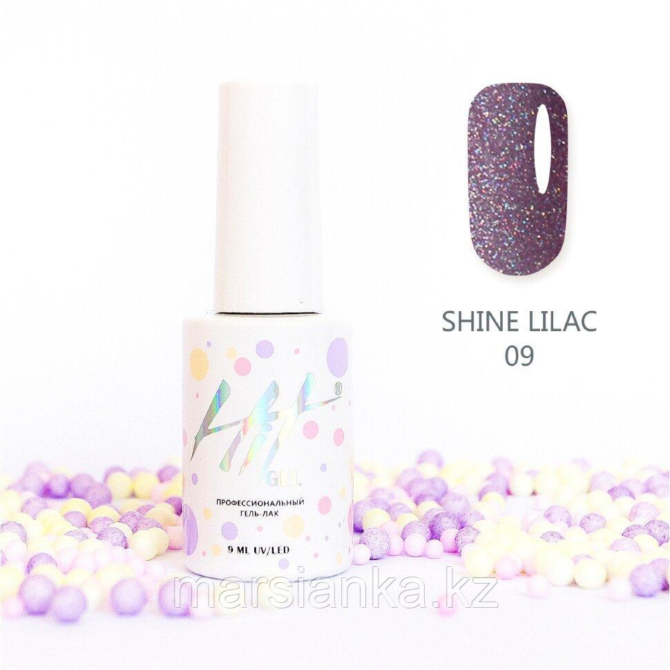 Гель-лак HIT gel Shine Lilac №09, 9мл