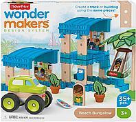 Конструктор Fisher-Price Wonder Makers для детей «Бунгало на пляже», фото 1