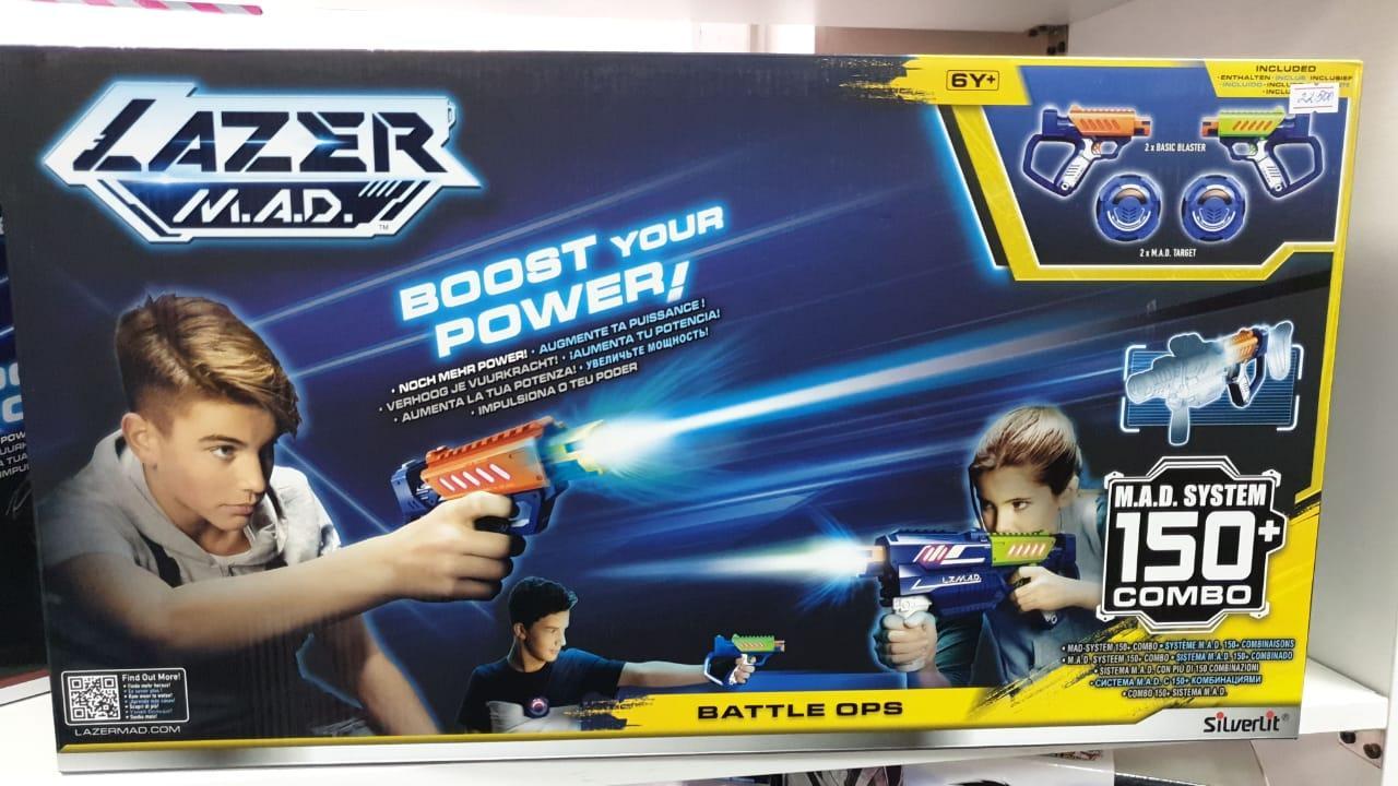 Лазерное Оружие Lazer Mad Эволюшн двойной