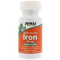 Now Foods, Железо, 36 мг, 90 капсул, фото 1