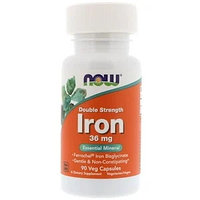 Now Foods, Железо, 36 мг, 90 капсул