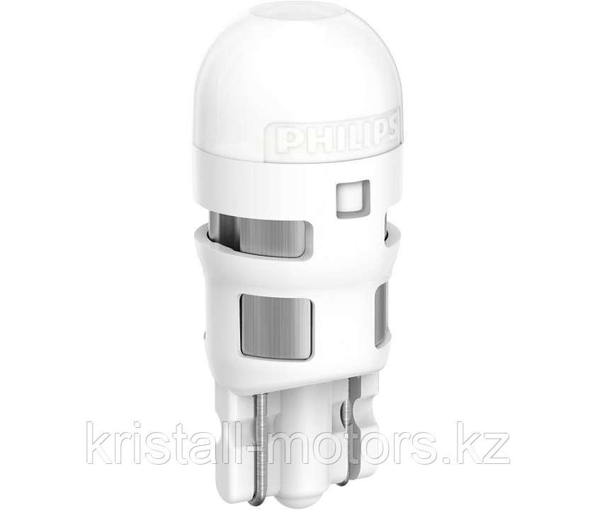Лампа W5W LED T10 PHILIPS Ultinon HL White 6000k 2шт
