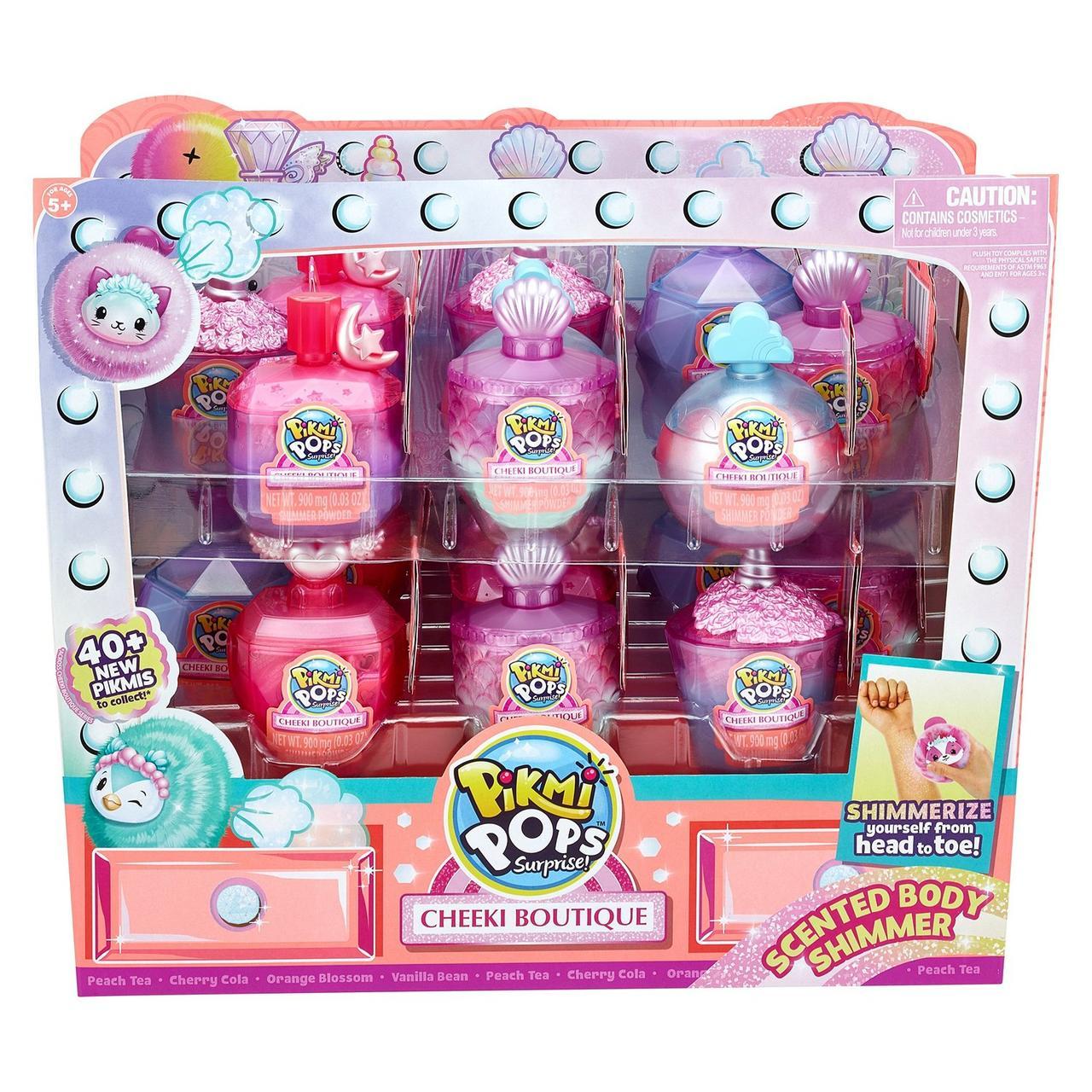 Pikmi Pops Набор Cheeki Boutique Плюшевая Пуховая игрушка (Сюрприз)
