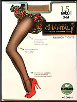 Колготки капроновые Madam Chantal 15/20den (черные), 4,5,6