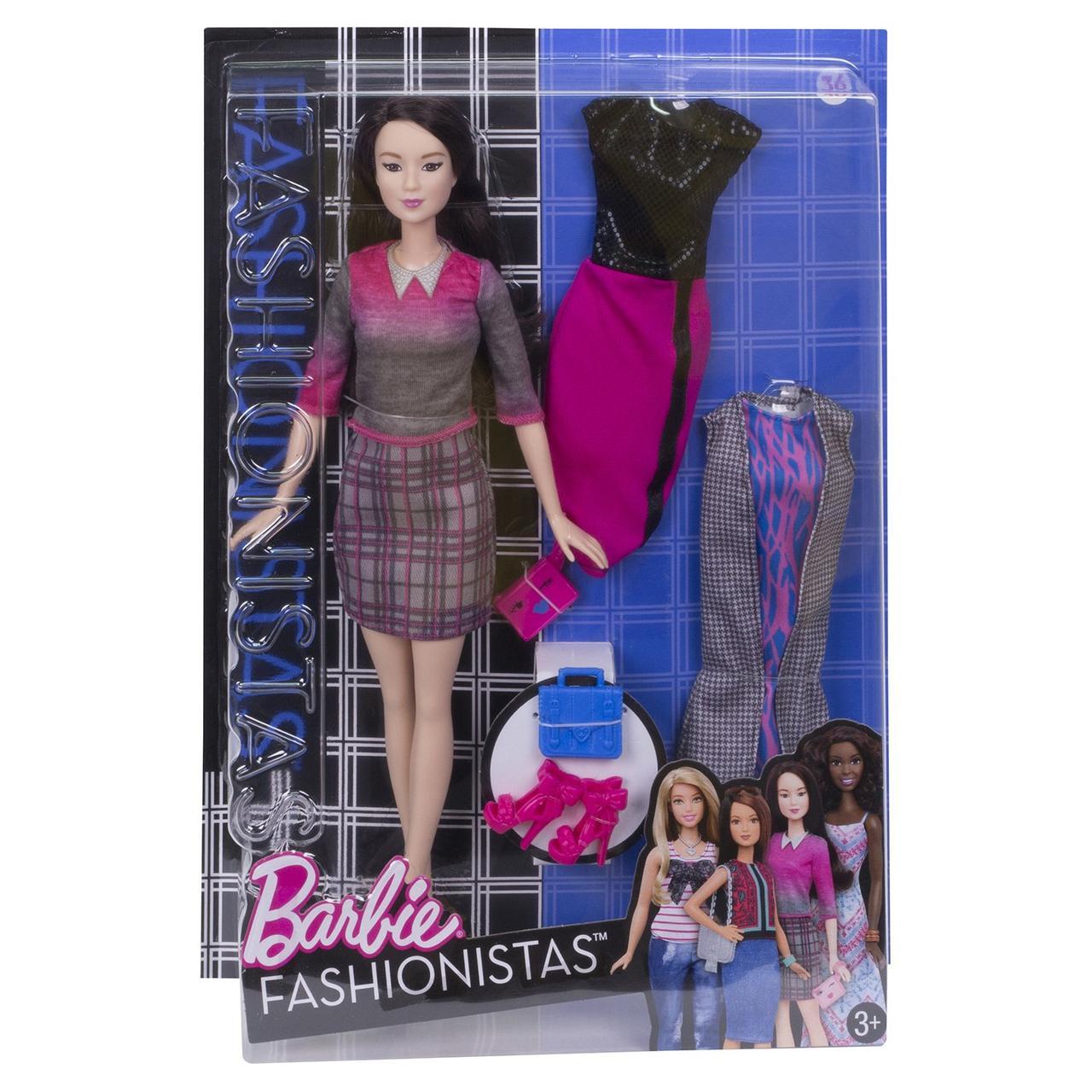 """Barbie """"Игра с модой"""" Кукла Барби - Азия с набором одежды"""