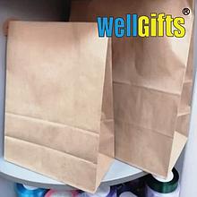 Бумажный пакет бурый 37х32х18 см 78 гр/м2