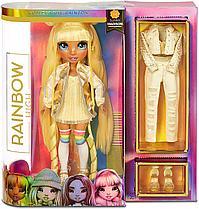 Кукла Реинбоу Хай золотая Rainbow High Surprise Sunny Madison