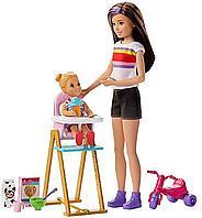 Барби Няня набор с двумя куклами и аксессуарами, фото 1