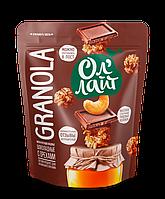 Гранола Ол'Лайт шоколадные с орехами