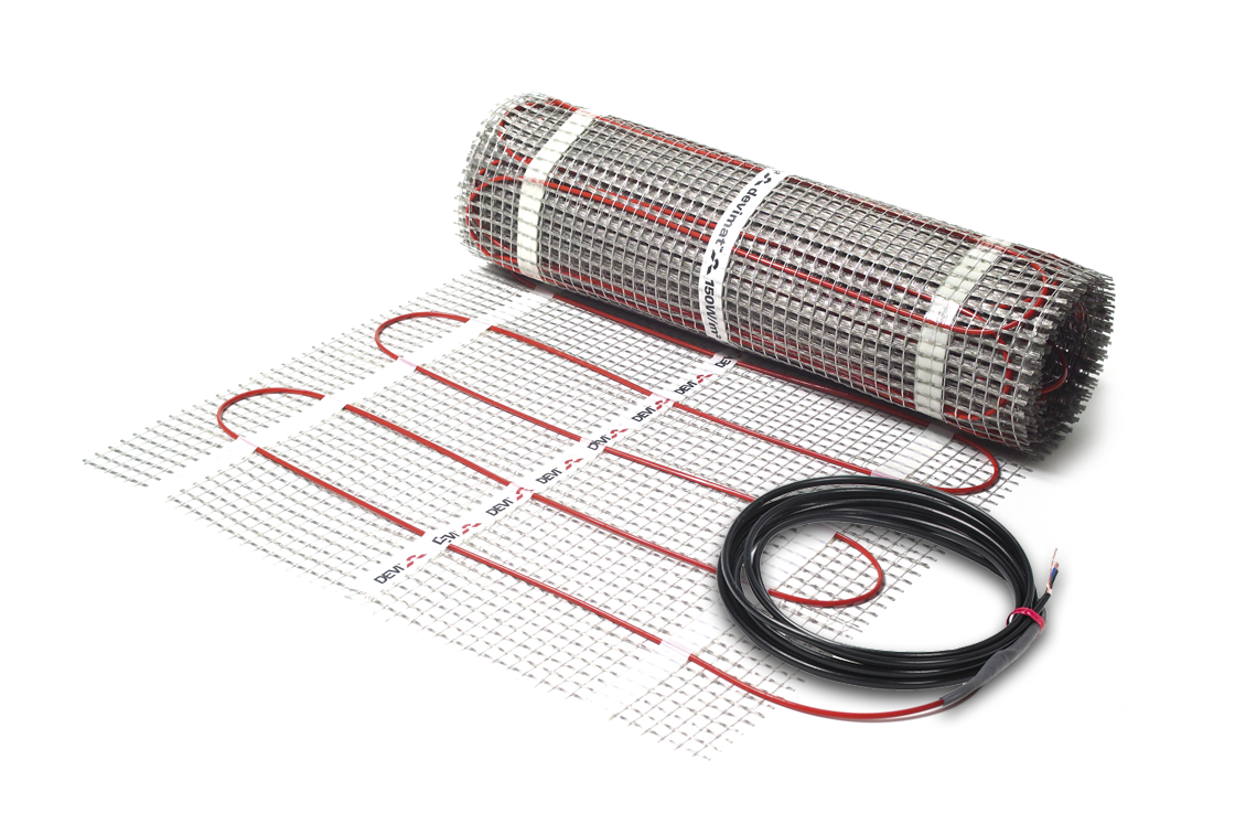 Нагревательный мат двухжильный DEVImat™ 200T (DTIF-200) размер 4,95м2