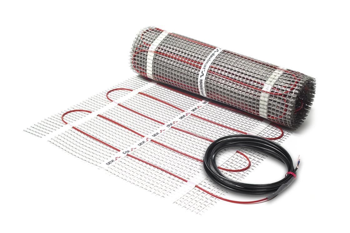 Нагревательный мат двухжильный DEVImat™ 200T (DTIF-200) размер 6,1м2