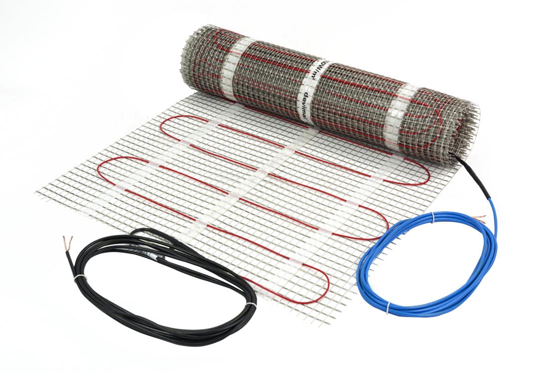 Супертонкий нагревательный мат DEVIheat™ 150S (DSVF-150) размер 2,5м2