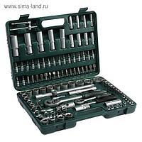 Набор инструментов в кейсе TUNDRA, автомобильный, CrV, 12-гранные головки, 108 предметов