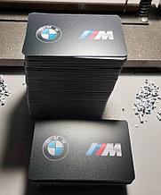 Визитки пластиковые для BMW,изготовление