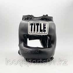 Боксерский шлем с бампером (закрытый шлем для единоборств)