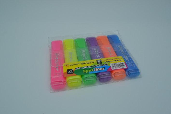 Набор текстовых маркеров 6шт Spotliner, фото 2