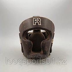 Закрытый боксерский шлем R Fist Rage для единоборств КОЖА