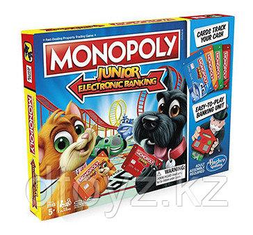 Hasbro: Монополия Джуниор с карточками E1842
