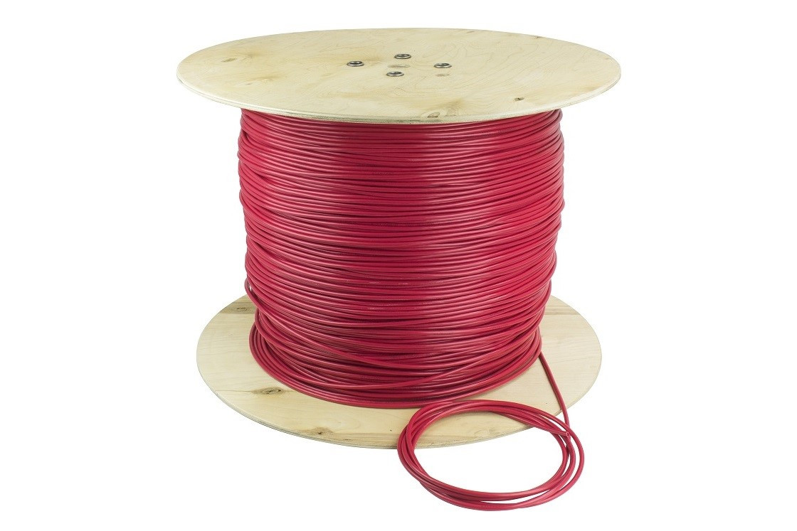 Одножильный нагревательный кабель DEVIbasic™ 20S (Deviflex DSIG-20) размер 9,1м2