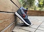 Кроссовки Nike Lunar Force 17 (Grey&Black) Евро-Зима, фото 2