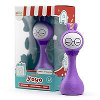 Alilo: интерактивная погремушка Умный зайка R1+ Yoyo фиолетовый