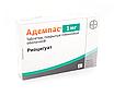 Адемпас (Adempas)  риоцигуат (riociguat) 0.5 мг, 1 мг, 1.5 мг, 2 мг, 2.5 мг таб. (Европа), фото 3