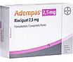 Адемпас (Adempas)  риоцигуат (riociguat) 0.5 мг, 1 мг, 1.5 мг, 2 мг, 2.5 мг таб. (Европа), фото 4