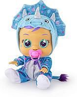 Плачущая кукла Cry Baby Край Беби динозаврик Тина