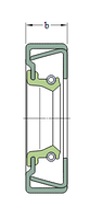 CR 68X95X13 CRSH13 R   Манжетное уплотнение SKF