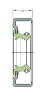 130X150X14 CRSA1 R манжетное уплотнение SKF