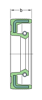 CR 17X35X10    манжетное уплотнение SKF