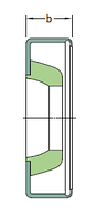 10X16X4 HM102 R   манжетное уплотнение SKF, фото 1