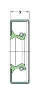 30X58X8 CRWA1 R   манжетное уплотнение SKF