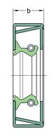 27370 (CR)   манжетное уплотнение SKF