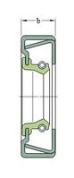 CR 54X72X10 CRSH13R  манжетное уплотнение SKF