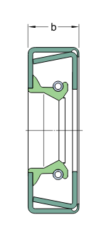 CR 110x160x12 CRWH1 R   манжетное уплотнение SKF