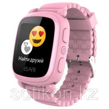Смарт часы Elari KIDPHONE 2 розовый, фото 2