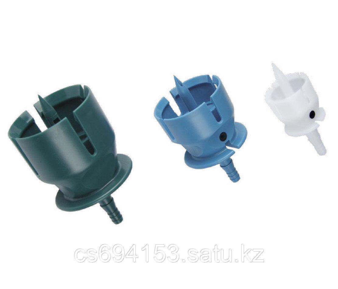 Комплект насадок SET DRAW W OFF-CAP 3 размера (20,30,33 мм) (белая, синяя, зеленая)